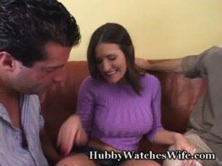 Сисси муженек дает горячую жену другу
