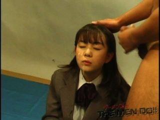 Bukkake лицейного урок 11 4/4 Японский без цензуры минета