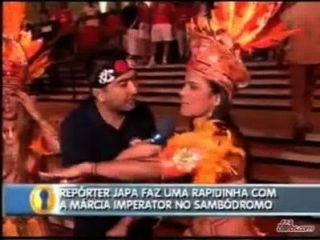 Marcia Imperator 02 Bastidores сделать Carnaval 2007 (2