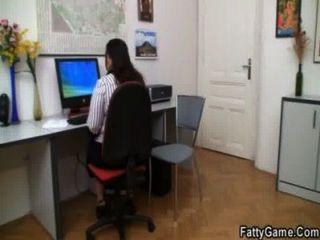 пополнела и клиент заниматься сексом в офисе