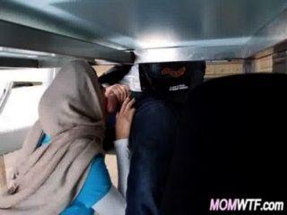 араба мама и дочь разделяют член Джулианна вега, Мия Халифа 15 82