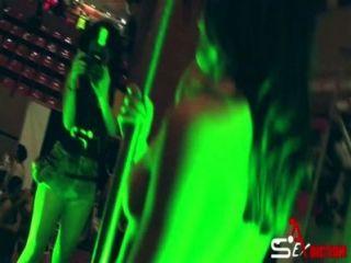 СЭБ-2014 двойная шоу Sexadiction лесбийская пара