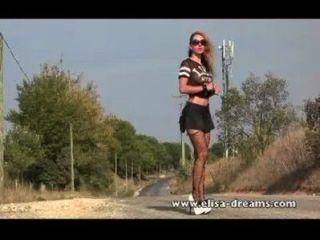 Публичный секс на шоссе
