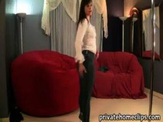 толстый Pawg сексуальная попой в суженных джинсах - Ameman