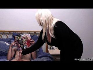 грудастая блондинка и муж поймали обман