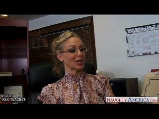 блондинка учитель Julia Ann Fucking Bbc
