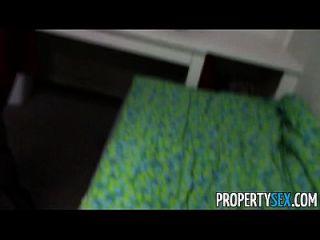 недвижимостьsex красивая брюнетка агент по продаже недвижимости домашний офис секс видео