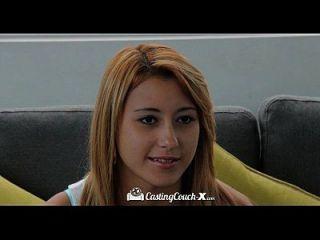 Hd Castingcouch X Marina Angels первый раз трахается на камеру
