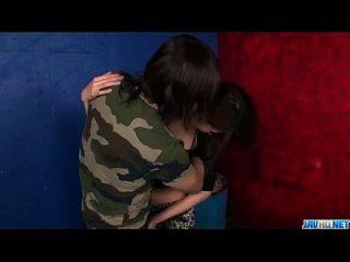 сексуальная порно сцена вдоль соблазнительная задница Риина Фьюджимото