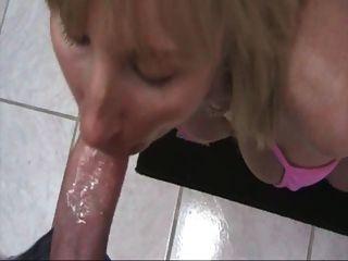 Горячая грудастая мама с БФ