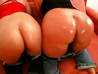 две большие задницы немецких девушек трахаться