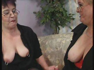 лесбийские бабка