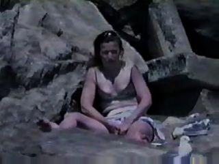 пойманных мастурбировать на пляже