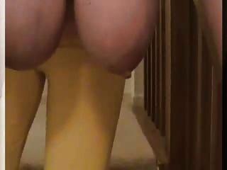 сексуальная мамаша любительское Lateshay низко висящий качается обвисшей природных 36 г синицы