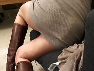 ИФОМ в кофте трахал, пока Creampie