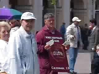 сумасшедшие русские - экстремальный секс общественности