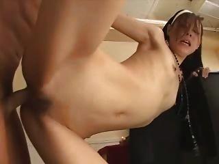 японский порно без цензуры секс - роговой монахини (rhj073)