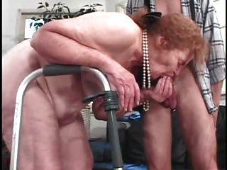 бабка ебут