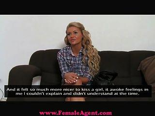 Femaleagent - реалити-шоу красотка пытается порно