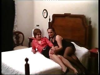 Xana и Лола - португальский дорожные проститутки в тяжелой девушки-девушки.