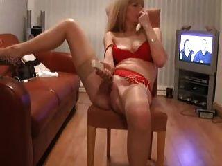 Большой оргазм на веб-камеру