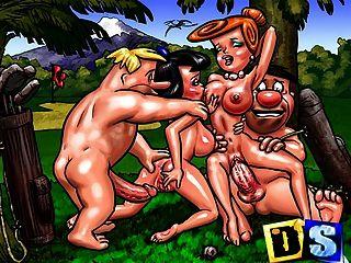 мультфильм матерей, хозяек и их рогоносцы делают порно
