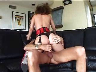 саша Нокс - неряха, анальный римминг глубокий заглот Buttplug удовольствие!