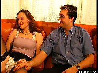 кастинг порно влить в.п. пара Libertin