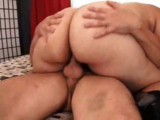 толстая девушка любит анальный секс