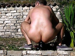 открытый фаллоимитатор Гусеница в моей роговой жопу и анальный фистинг