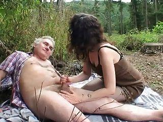 Открытый пожилые пары секс
