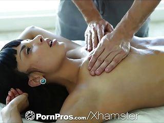 Hd - Pornpros горячий соблазнительная Анисса Кейт получает полный массаж тела