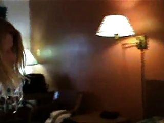 горячая блондинка жена с БиБиСи
