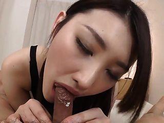Азуми Mizushima минет и хардкор с Сперма
