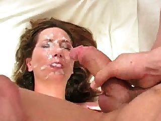 дайте мне вашу сперму на моем лице