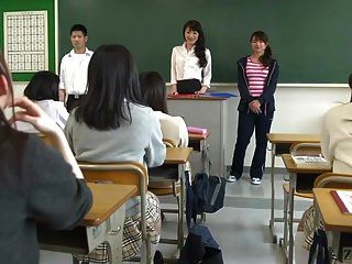 японская школа из ада с экстремальными лицами