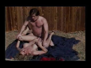 Randi Storm + Kyle Stone горячий секс на открытом воздухе
