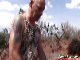 Африканский сафари втроем