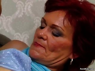 немецкая бабушка любит анал