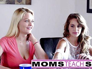 Шаг мама Бренди любовь трахает молодых не дочь и друзей