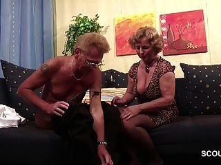 немецкая старая пара в первый раз порно кастинг ролевого