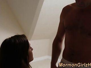 мормон подросток с помазанником