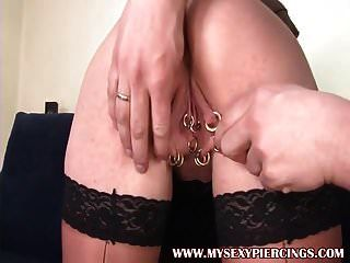 моя сексуальная пирсинг мамаша марина с пирсингом киска анальный дрель