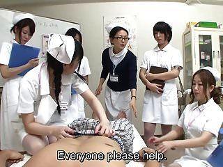 Jav медсестры Cfnm дрочка минет демонстрация с субтитрами