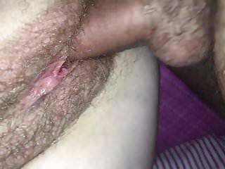рогоносец сперма в моей волосатой киске
