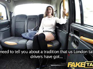 поддельная такси испанка с отличным сексуальным телом и красивыми сиськами