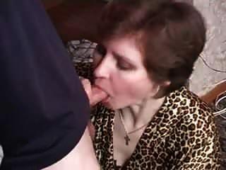 тетя урок секса
