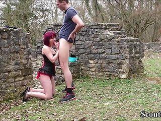 немецкий любительский подростковых пар ебать на открытом воздухе для собственного порнофильма