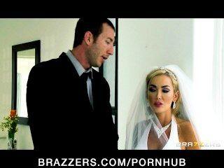 сексуальный большой синица невеста девон едет большой Дик сразу после ее свадьбы
