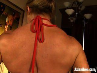 Aziani железа зрелых женщин бодибилдер с большим клитором